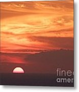 Waikiki Sunset No 4 Metal Print
