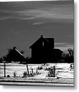 Waiting By The Pain Metal Print