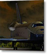 Waiting For Discovery Metal Print