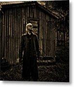 Waiting For The Storm Metal Print