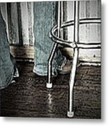 Waitress In Boots Metal Print by Chris Berry