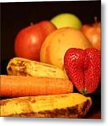 Wake Up - Fruit Is In The Air Metal Print by Andrea Nicosia