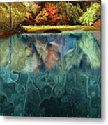 Walden Pond II Metal Print