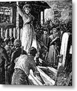 Wales: Rebecca Riots, 1843 Metal Print