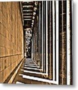 Walhalla Colonnade ... Metal Print by Juergen Weiss