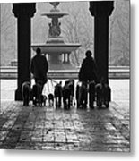 Walk In The Park Metal Print
