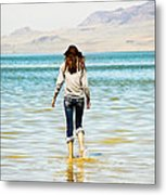 Walking Away 2 Metal Print