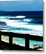 Walkway To The Sea Metal Print by Phill Petrovic