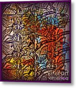 Wall Paper Abstract Metal Print