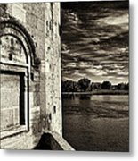 Walled-up Window Metal Print