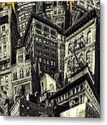 Walls And Towers Metal Print