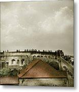 Walls Of Dubrovnik Metal Print