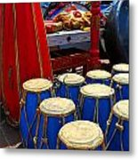 Walrus Drums Metal Print