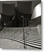 Walt Disney Concert Hall Metal Print