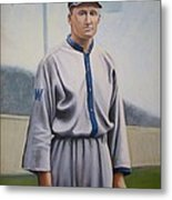 Walter Johnson Metal Print by Mark Haley