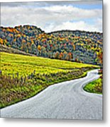 Wandering In West Virginia Metal Print
