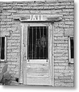 Wanted - Get Out Of Jail  Card  Metal Print