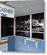 Wanted Cashier  Metal Print
