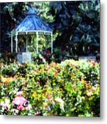 War Memorial Rose Garden 1  Metal Print