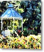 War Memorial Rose Garden 2  Metal Print