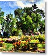 War Memorial Rose Garden  4 Metal Print