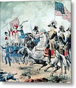 War Of 1812 Battle Of New Orleans 1815 Metal Print