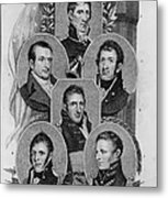 War Of 1812: Generals Metal Print