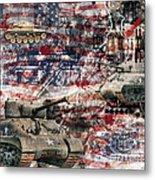 War Wagons    Metal Print