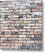 Warehouse Brick Wall Metal Print