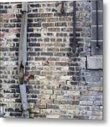 Warehouse Drain Pipe 1 Metal Print