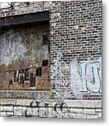 Warehouse Grafitti 2 Metal Print