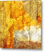 Warm Abstract Metal Print by Brett Pfister