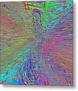 Warp Of The Rainbow Metal Print