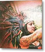 Warrior Dance Metal Print