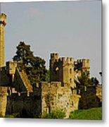 Warwick Castle Metal Print