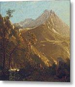 Wasatch Mountains Metal Print