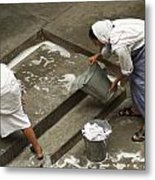 Washing At The Motherhouse Metal Print