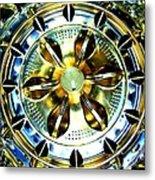 Washing Machine Drum Metal Print by Randall Weidner