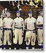 Washington Baseball Metal Print by Charles Shoup