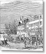 Washington, D.c., 1853 Metal Print