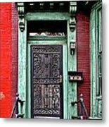Washington Doorway Metal Print