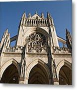Washington National Cathedral Entrance Metal Print