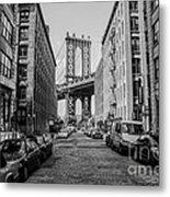 Washington Street Brooklyn Metal Print