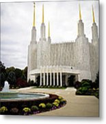 Washington Temple Metal Print