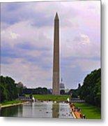 Washington - The Gathering Storm Metal Print