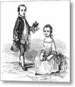 Washingtons Stepchildren Metal Print