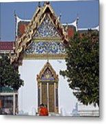 Wat Benchamabophit Monks Residence Dthb187 Metal Print