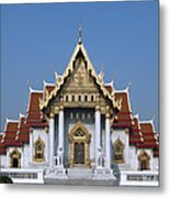 Wat Benchamabophit Ubosot Dthb1239 Metal Print