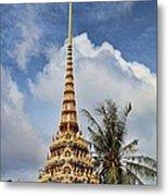 Wat Chalong 5 Metal Print