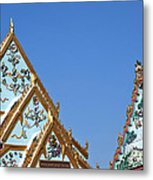 Wat Chamni Hatthakan Gables Dthb934 Metal Print